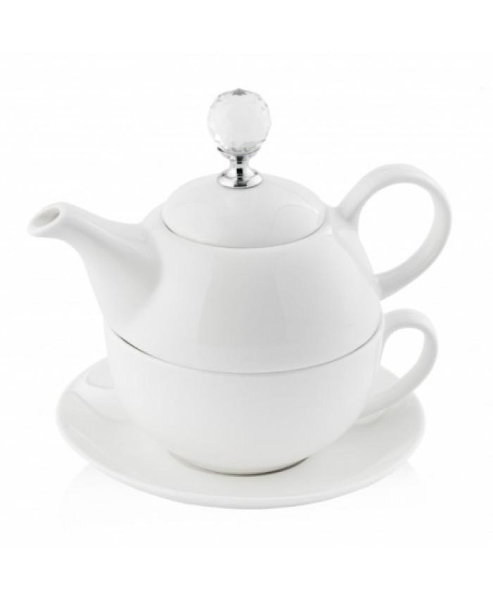 Ceainic cu infuzor  DIAMANT2