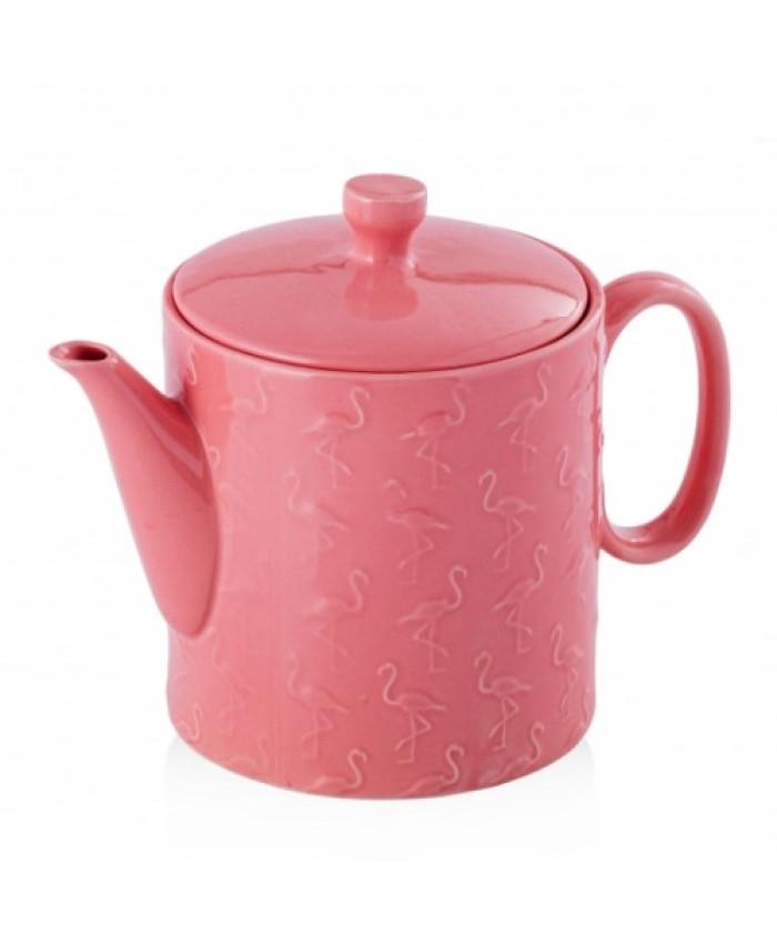 Ceainic ceramica cu infuzor FLAMBOSI