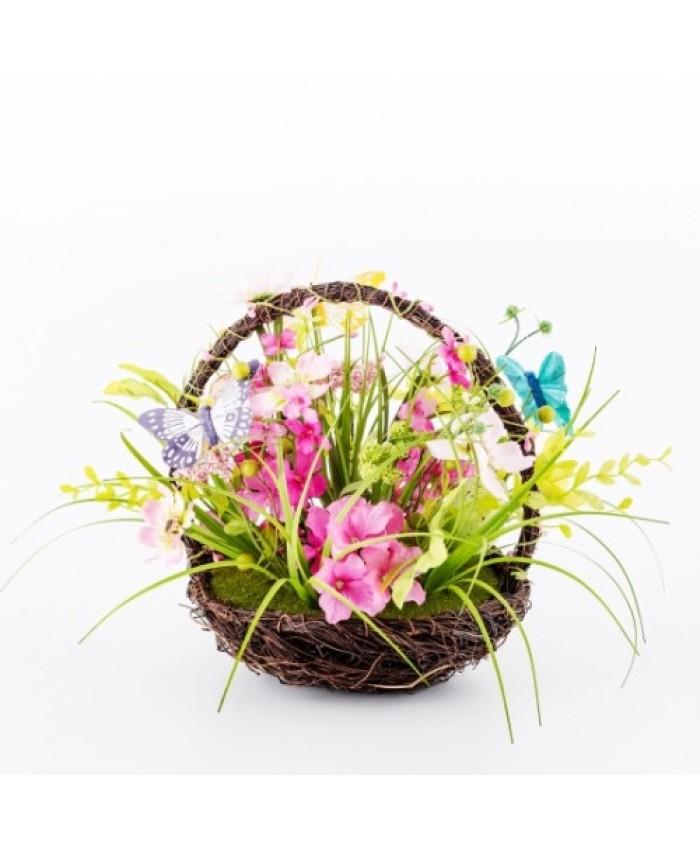 Compozitie de flori LERIDA BASKET